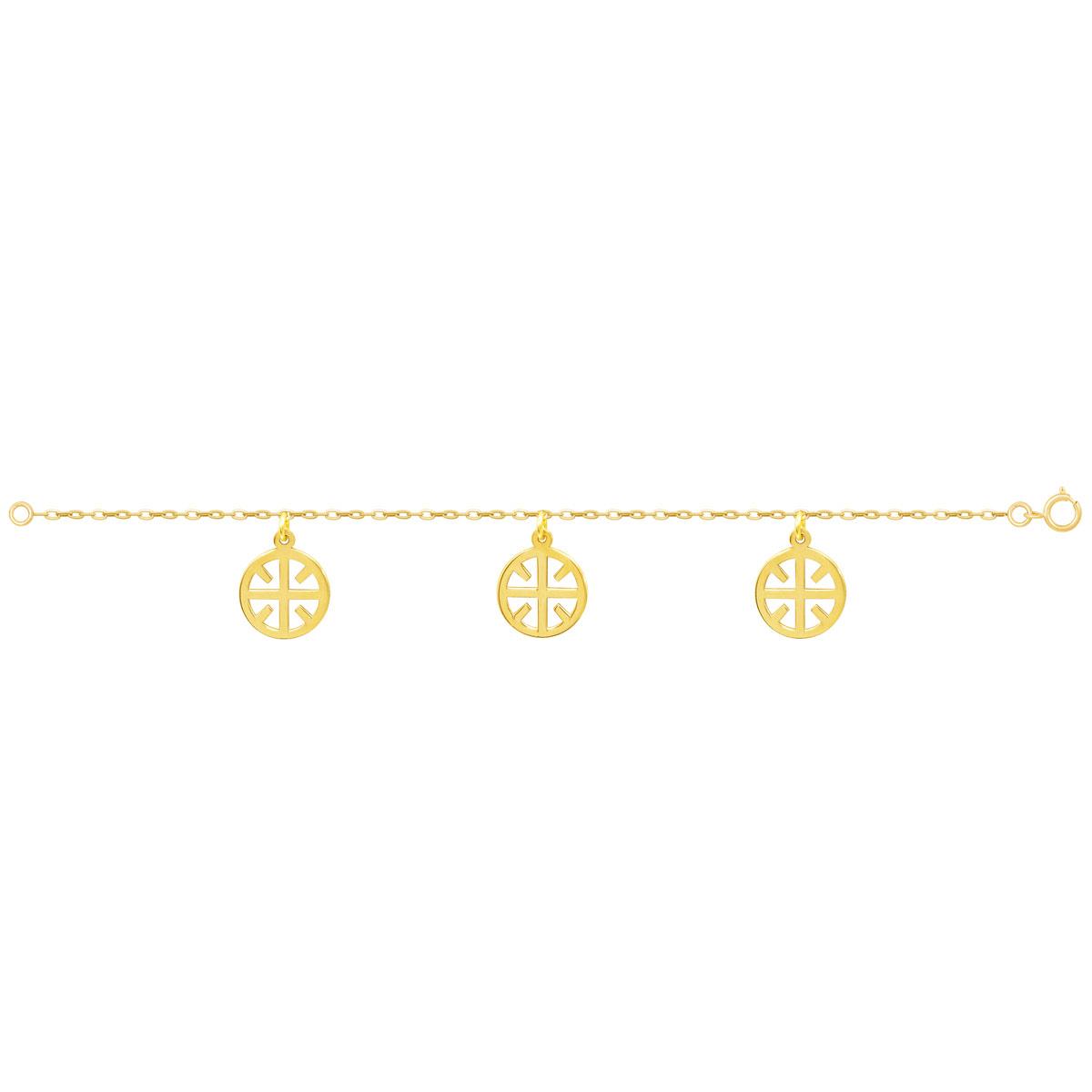 دستبند طلا نور پرسته
