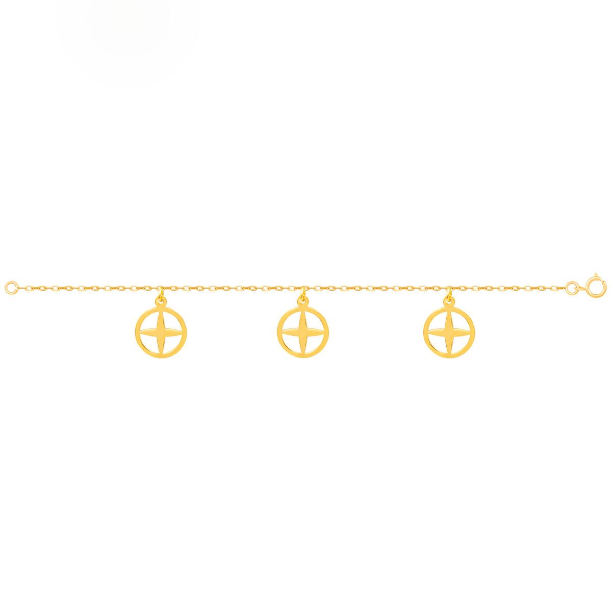 دستبند طلا آفتاب پرسته