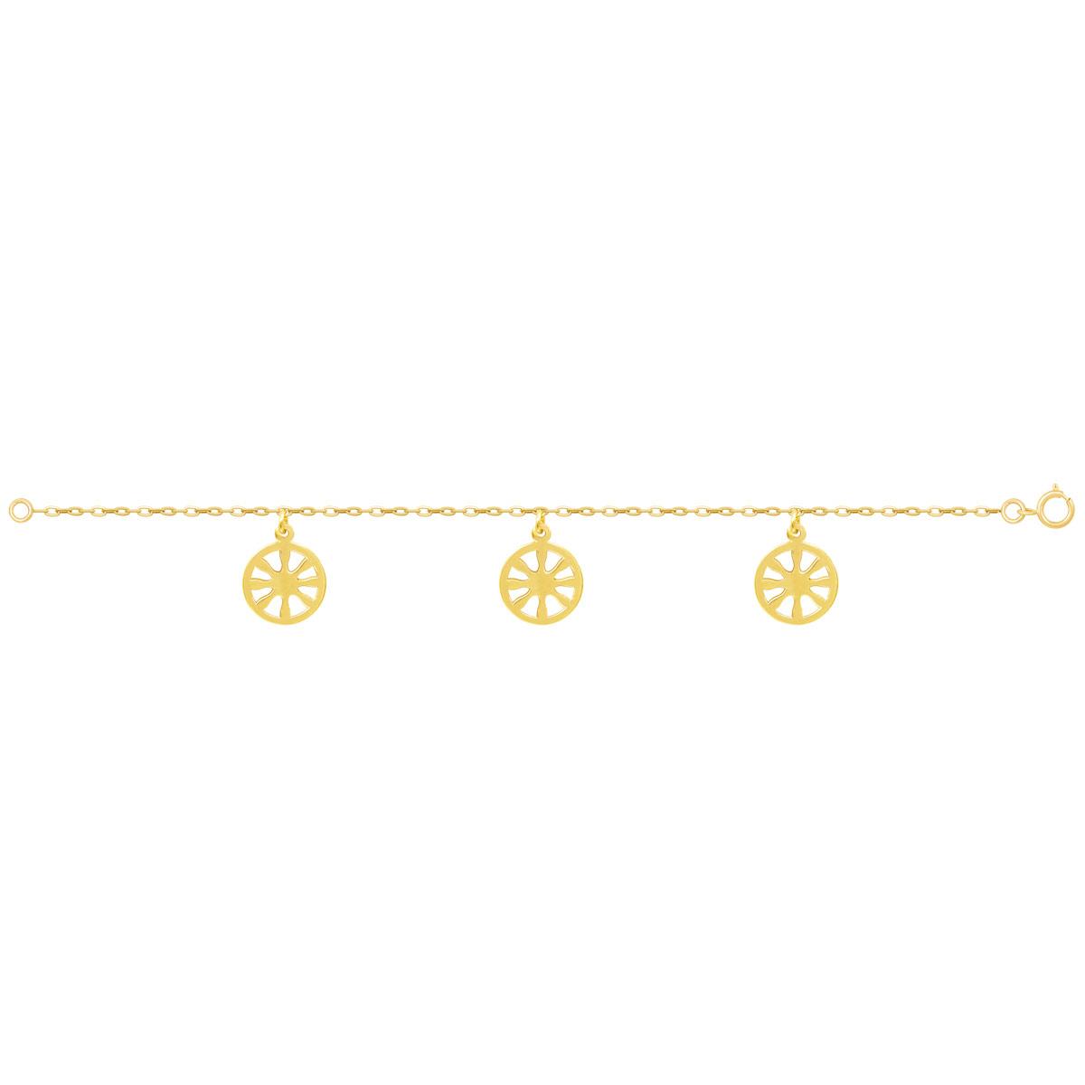 دستبند طلا شمس پرسته