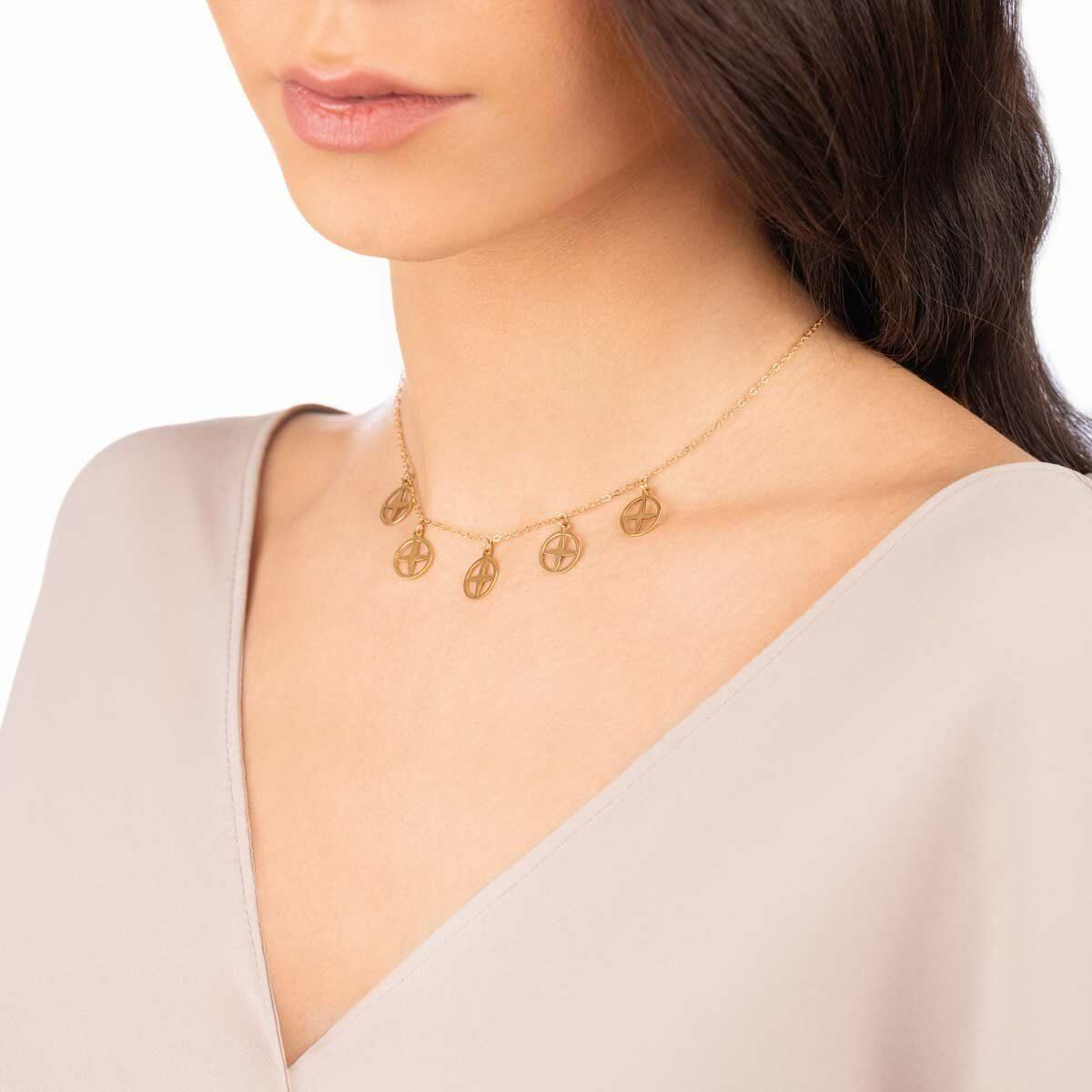 گردنبند طلا آفتاب
