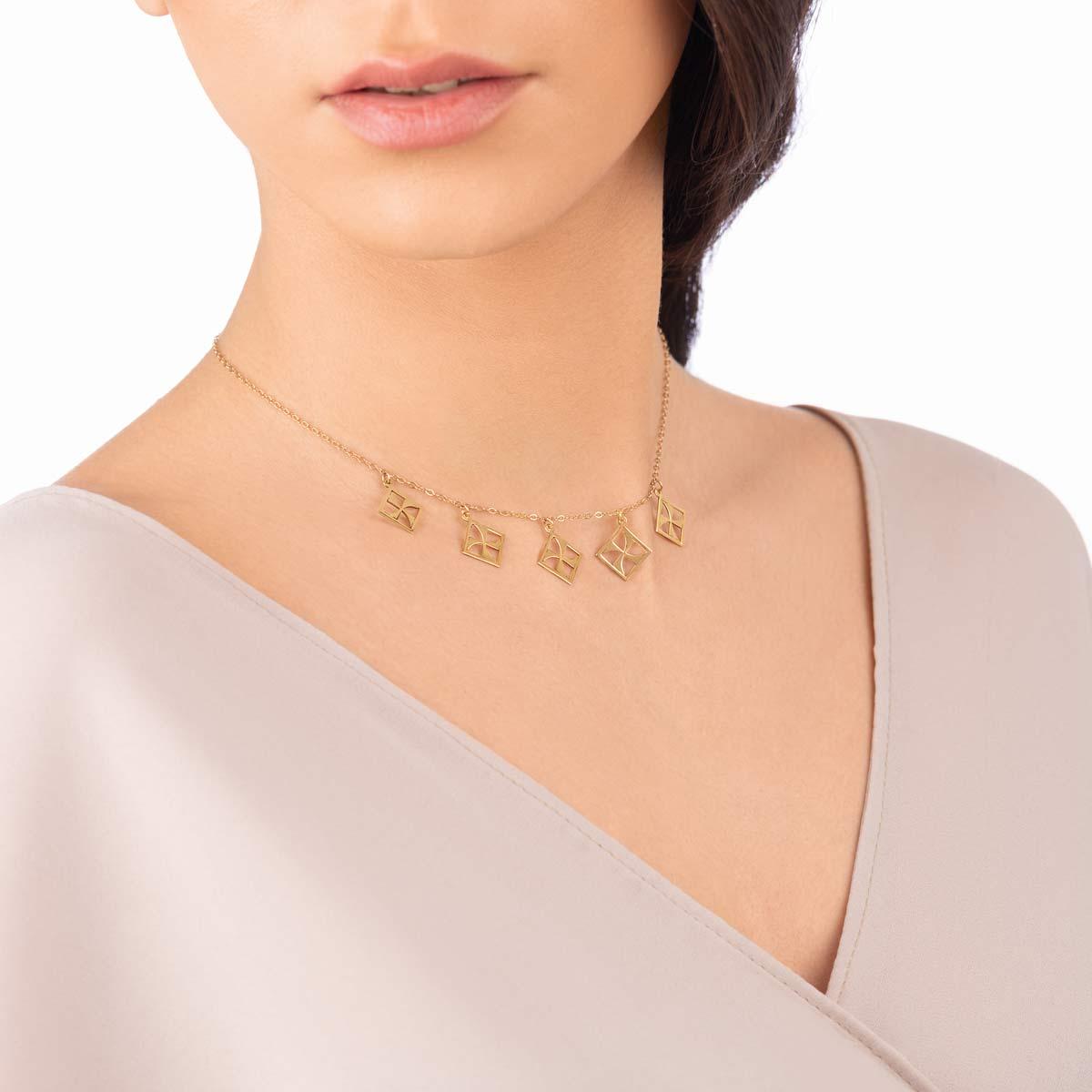 گردنبند طلا مهر