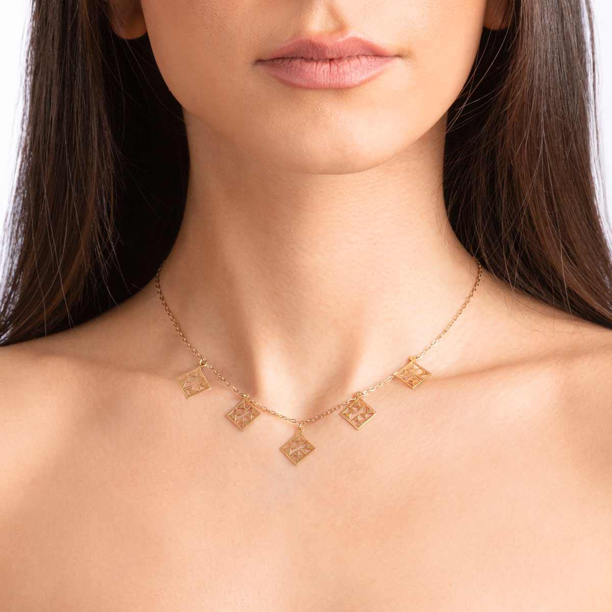 گردنبند طلا نورا