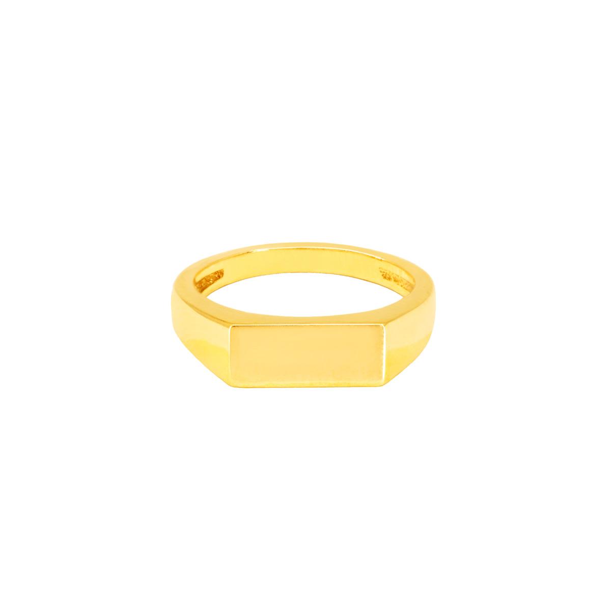 انگشتر طلا Pinky Ring پرسته