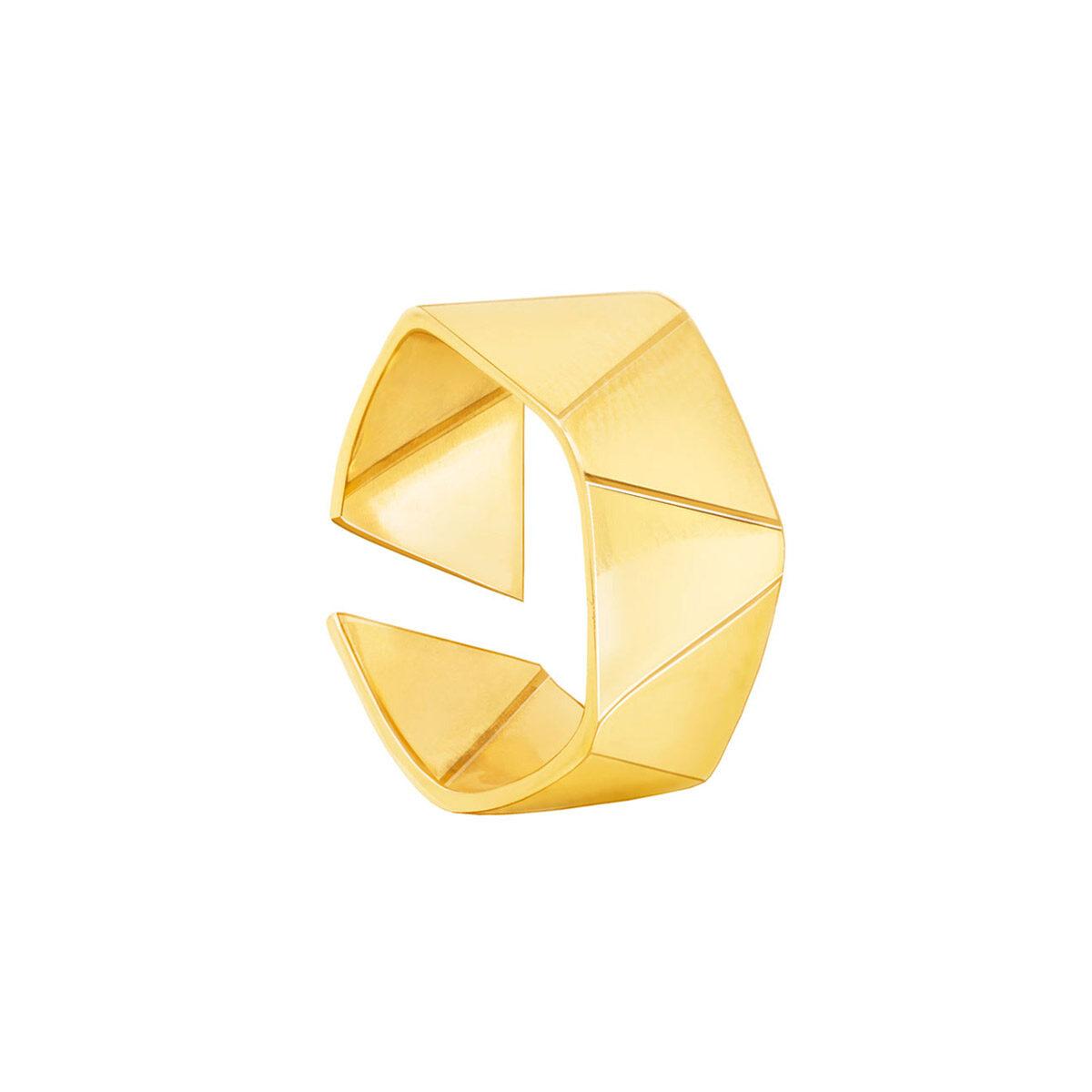 انگشتر طلا مثلث