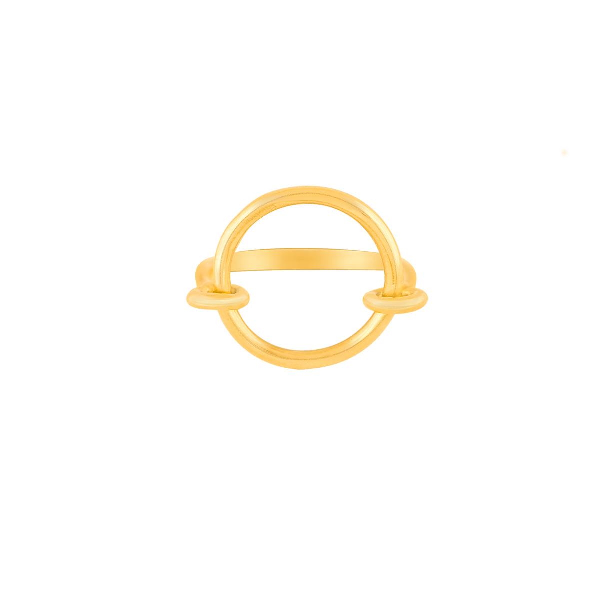 انگشتر طلا Circle پرسته