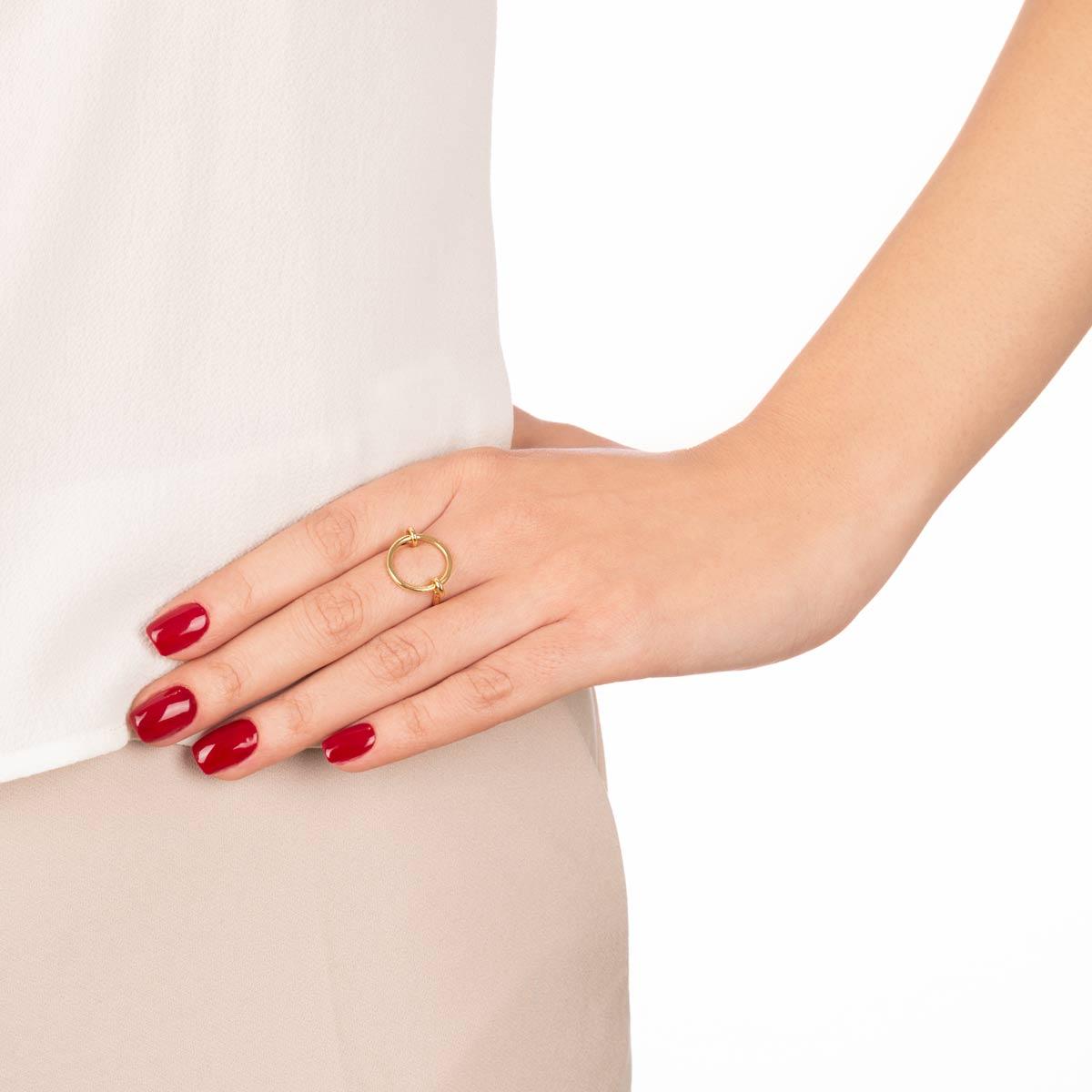 انگشتر طلا CIRCLE