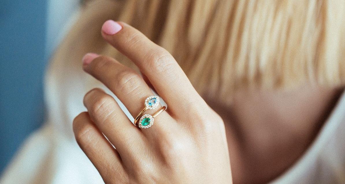 طراحی سفارشی انگشتر ، حلقه ازدواج و حلقه نامزدی
