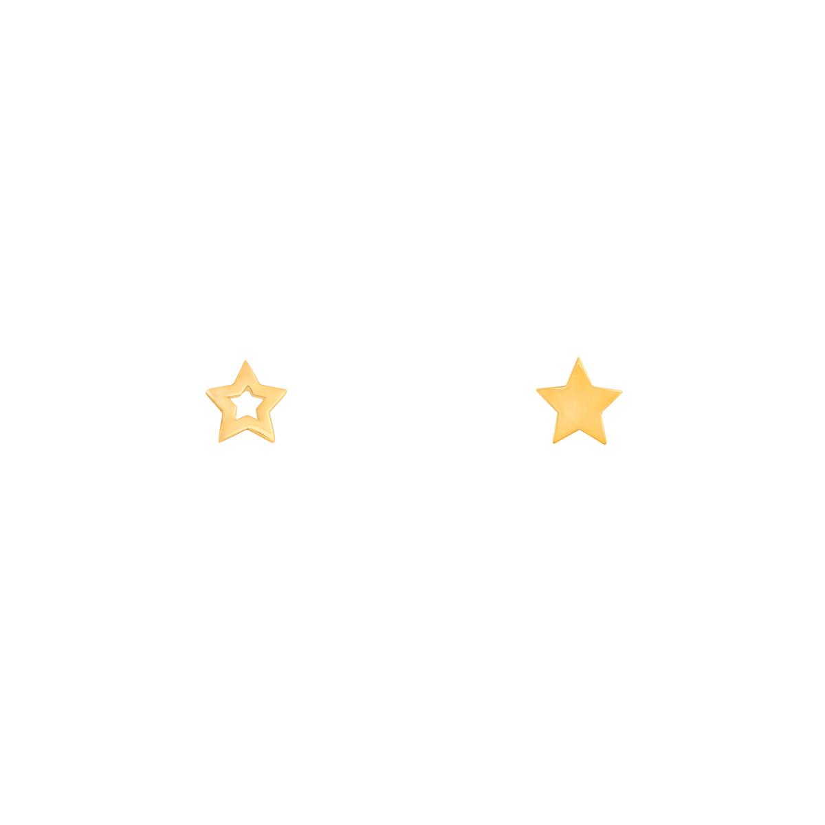 گوشواره طلا ستاره CONTRAST