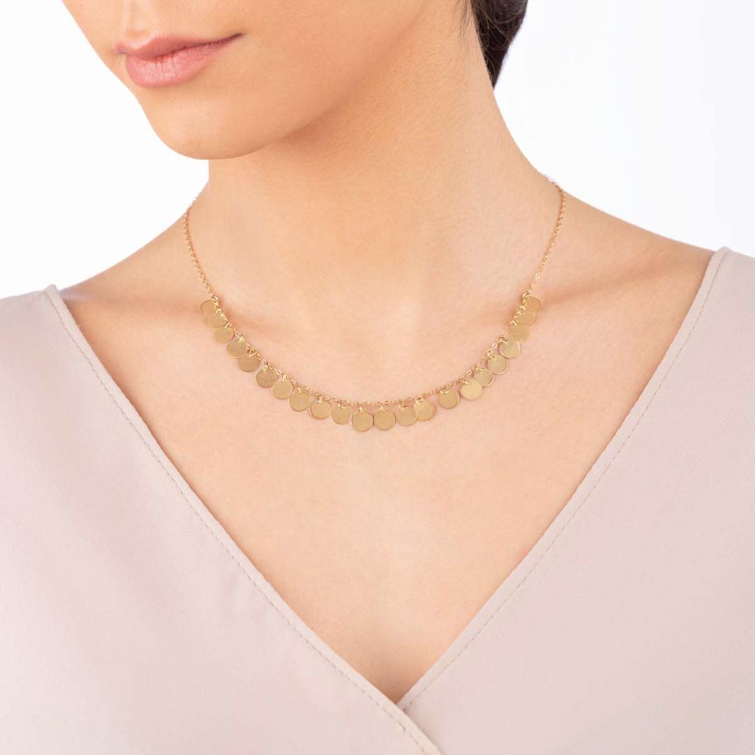 گردنبند طلا Mermaid (پری دریایی)