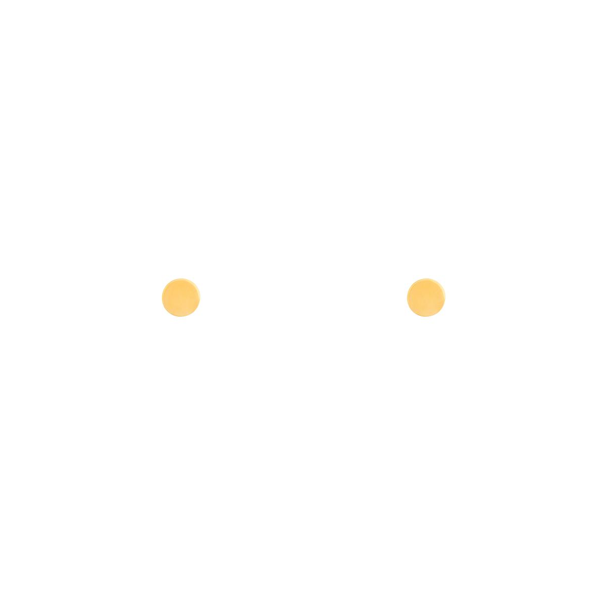 گوشواره طلا دایره بزرگ