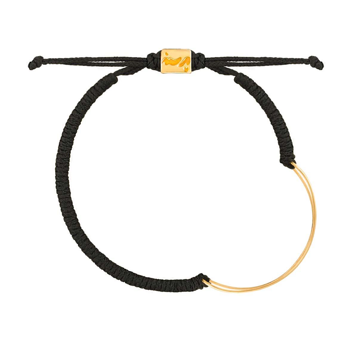 دستبند طلا بافت NOOK