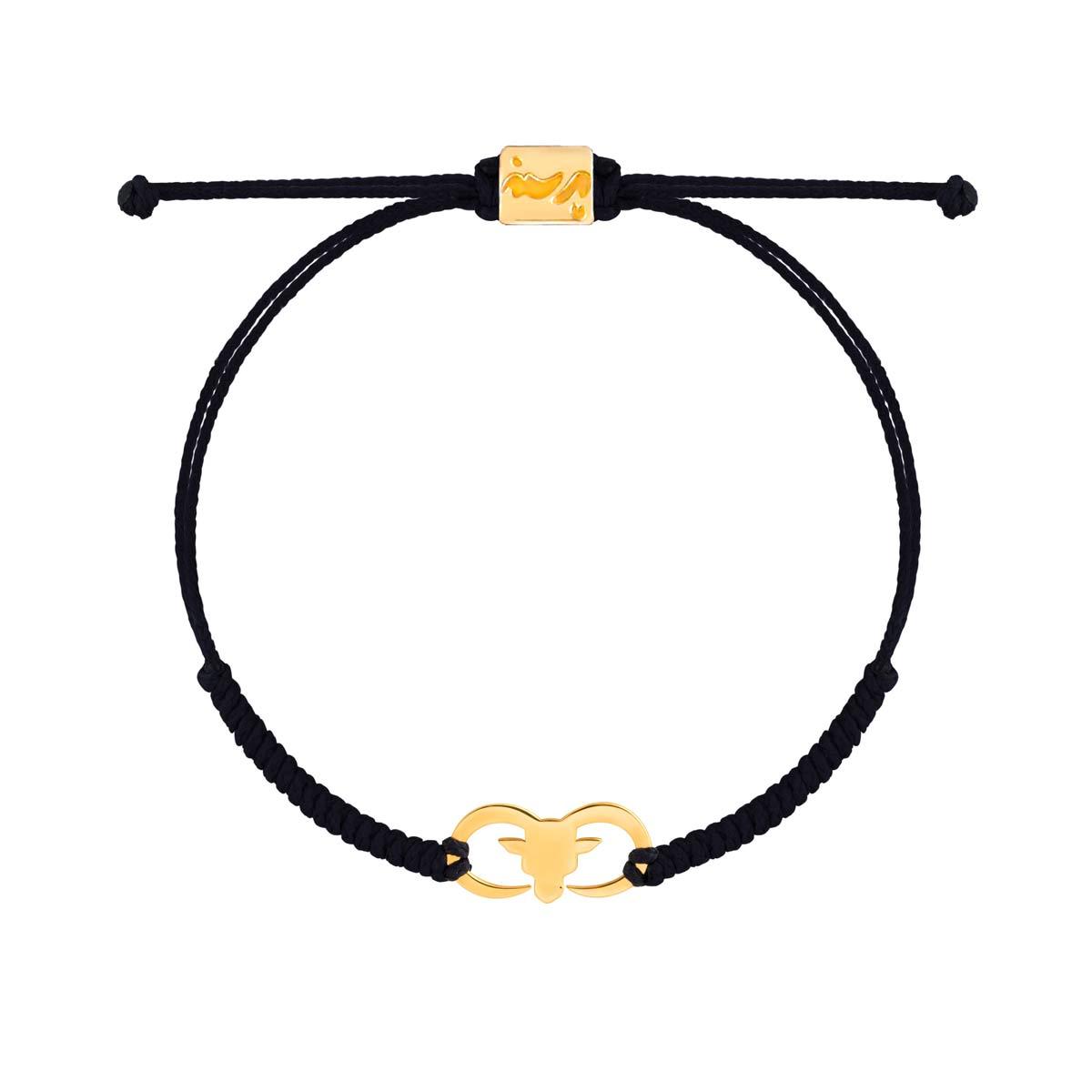 دستبند طلا بافت قوچ
