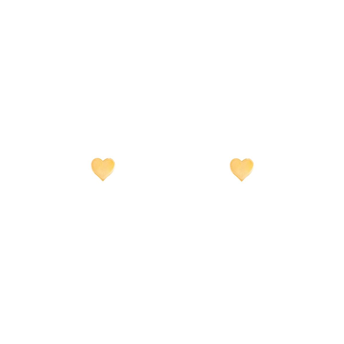 گوشواره طلا قلب کوچک