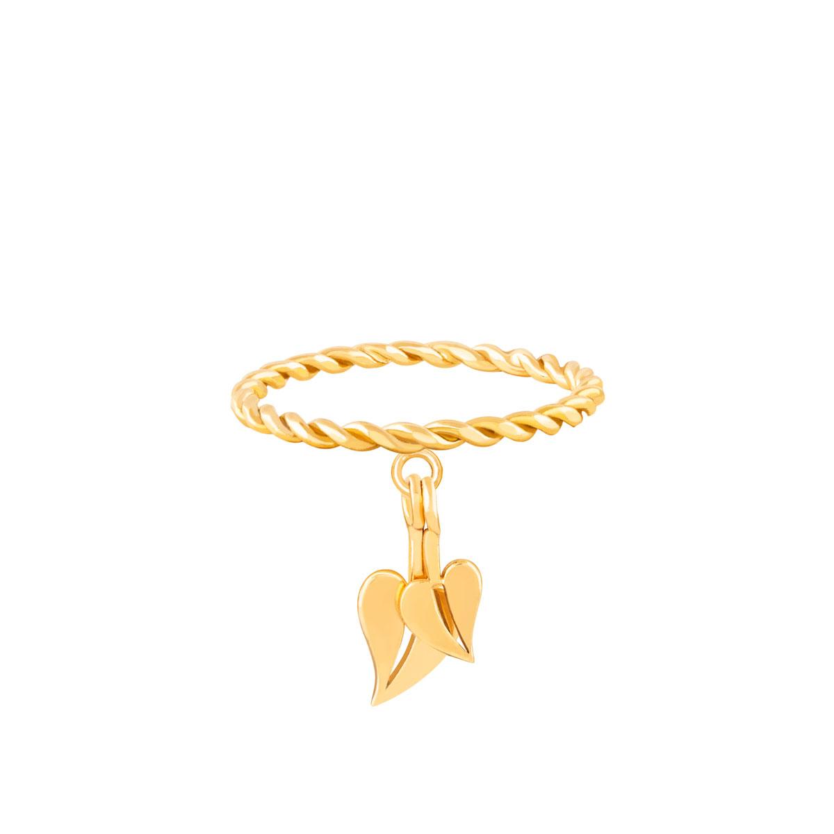 انگشتر طلا برگ فیلوم (صلح) ایشتار