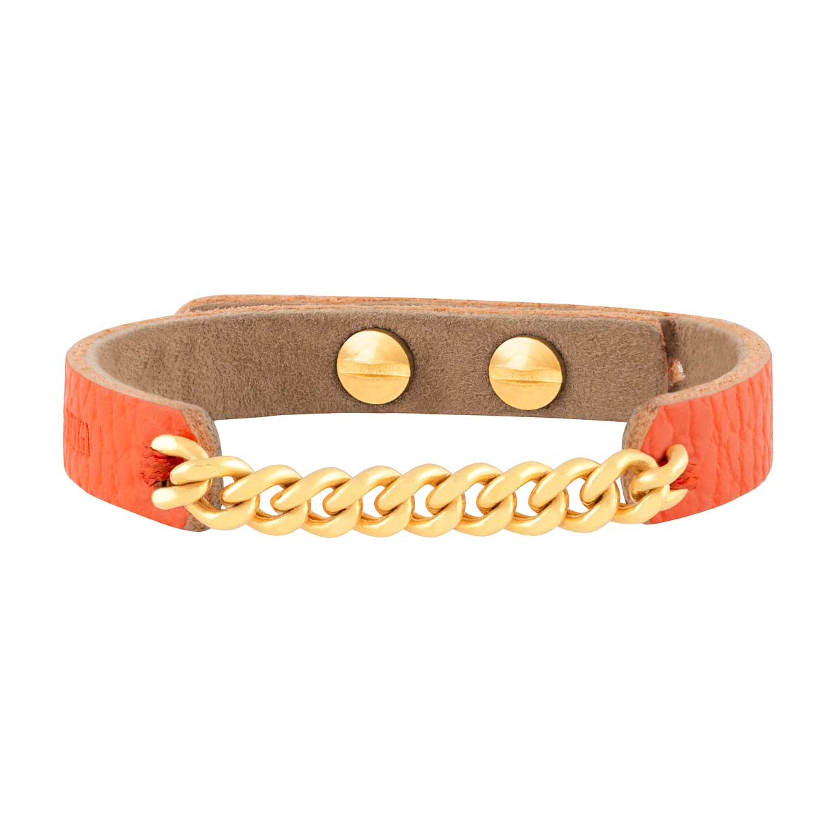 دستبند طلا چرمی یازده حلقه کارتیه