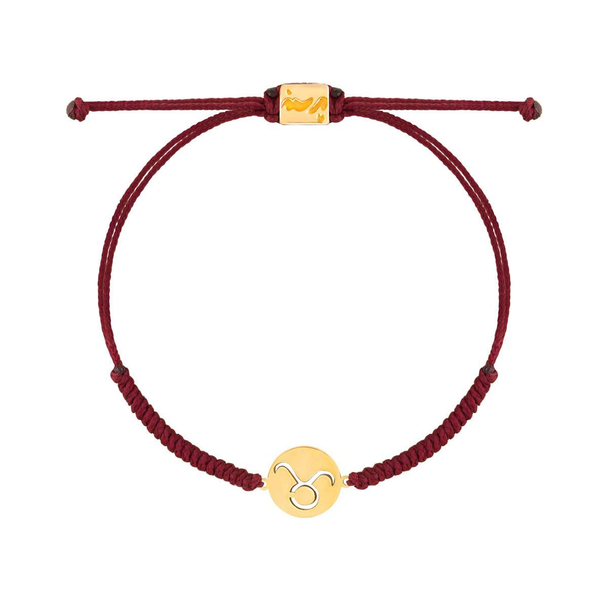 دستبند طلا بافت نماد ماه اردیبهشت