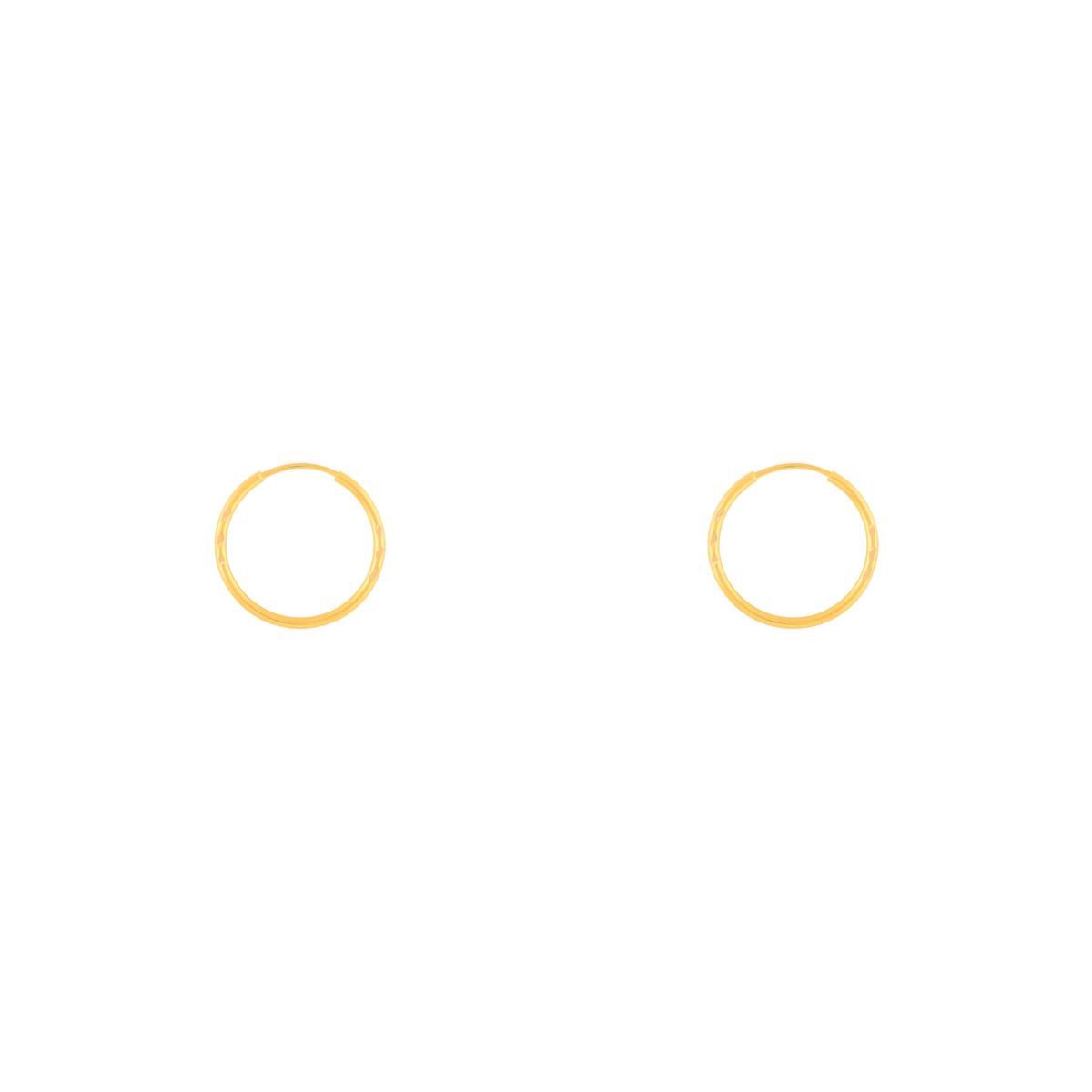 گوشواره طلا حلقه