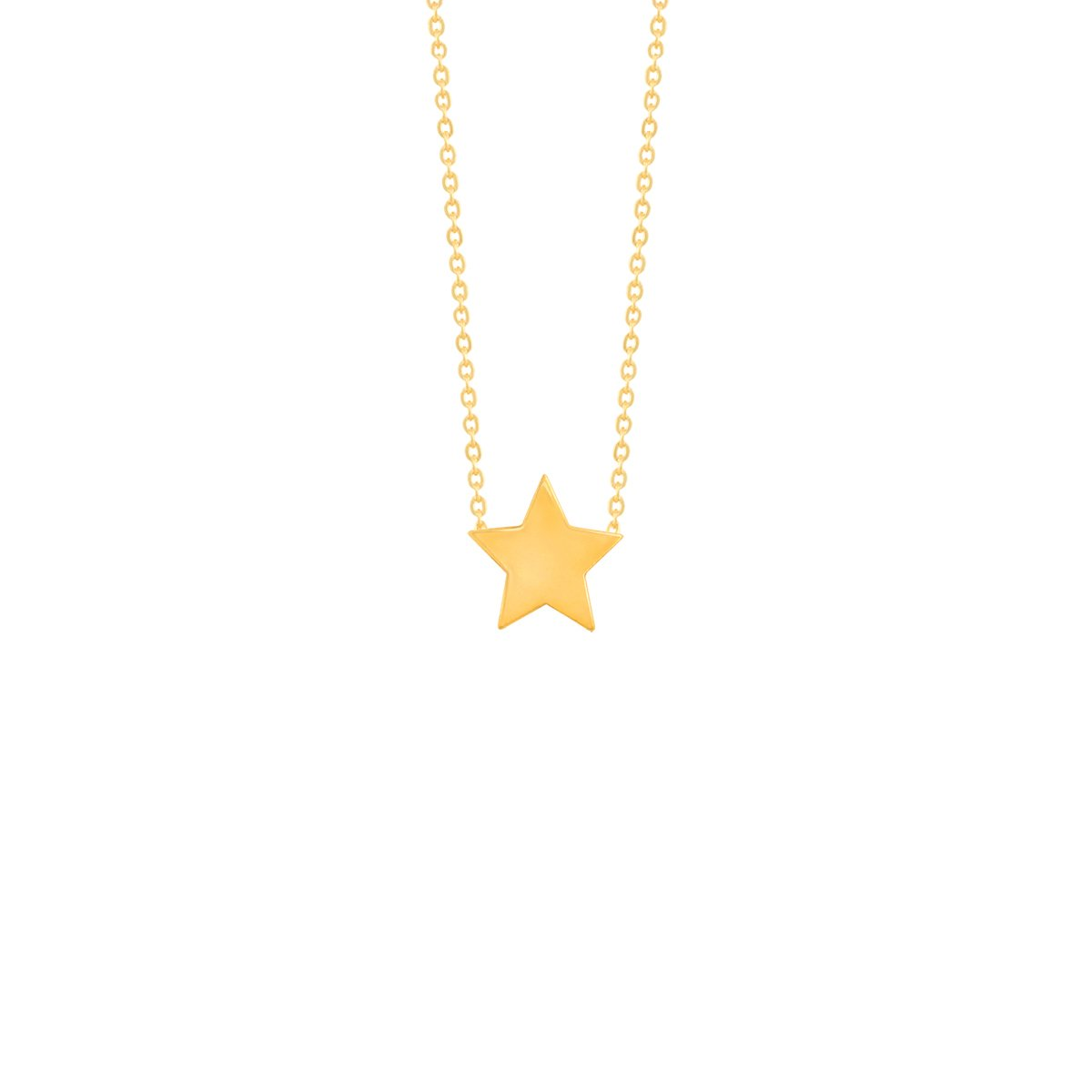 گردنبند طلا ستاره