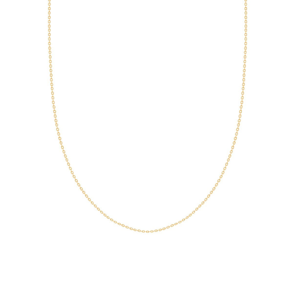 زنجیر گردنبند طلا فلامینگو سایز 2