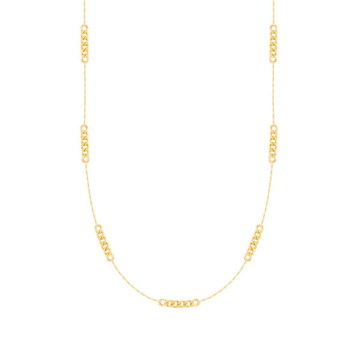 زنجیر گردنبند طلا کارتیه و فلامینگو