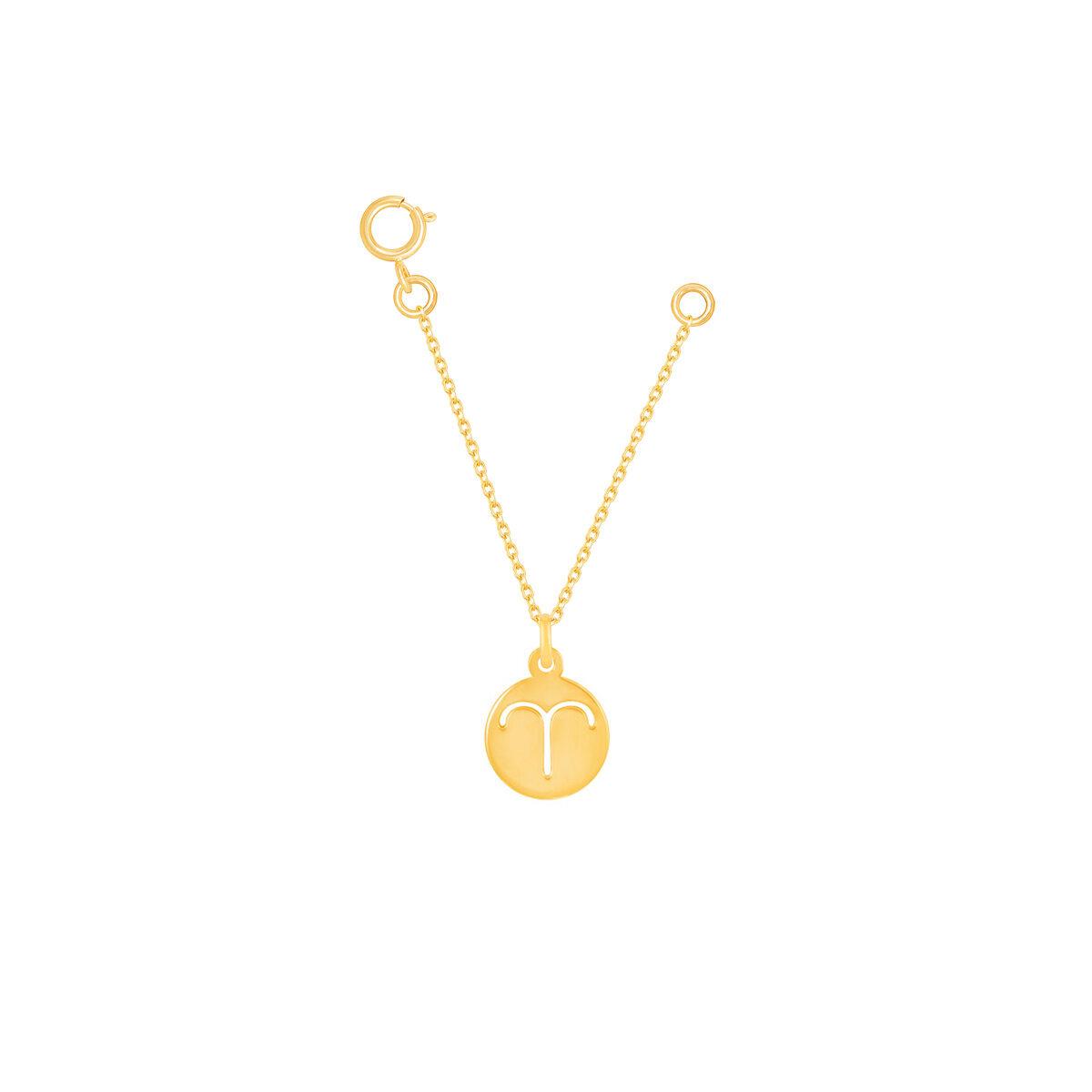 آویز ساعت طلا نماد ماه فروردین
