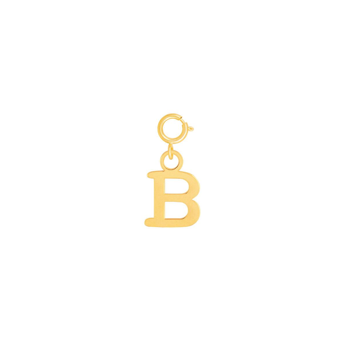 آویز طلا حرف B