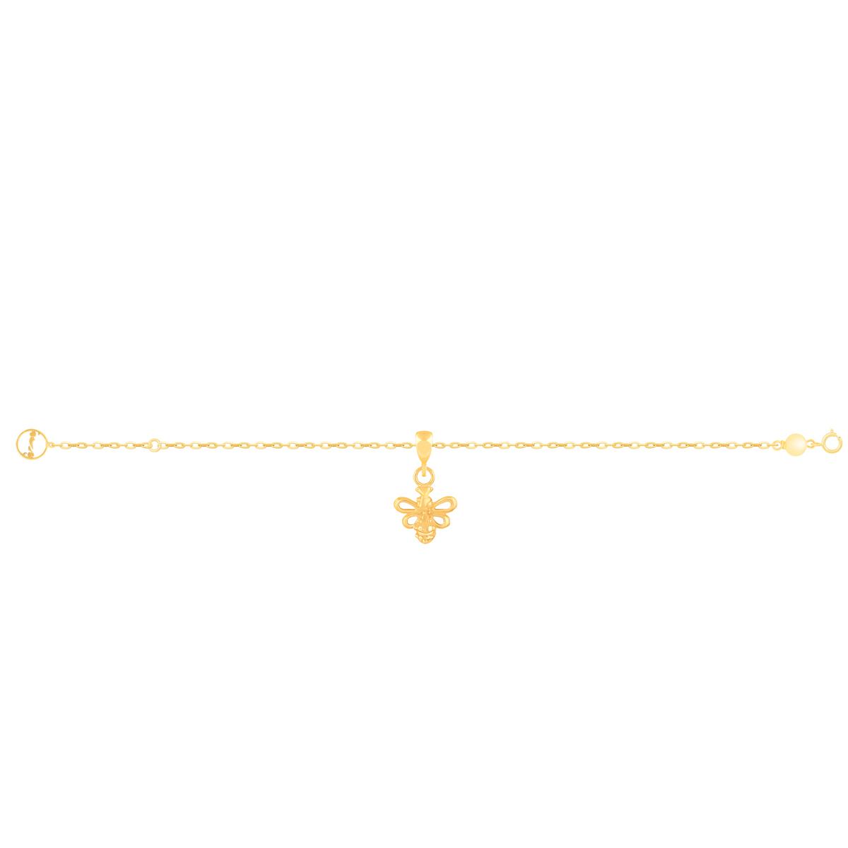 دستبند طلا زنبور