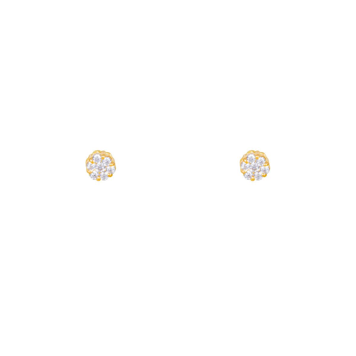 گوشواره طلا FLOWER و برلیان