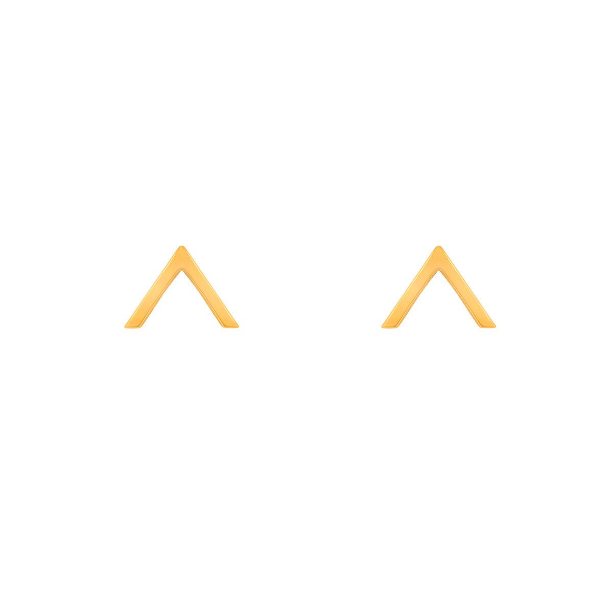 گوشواره طلا V ( وی )
