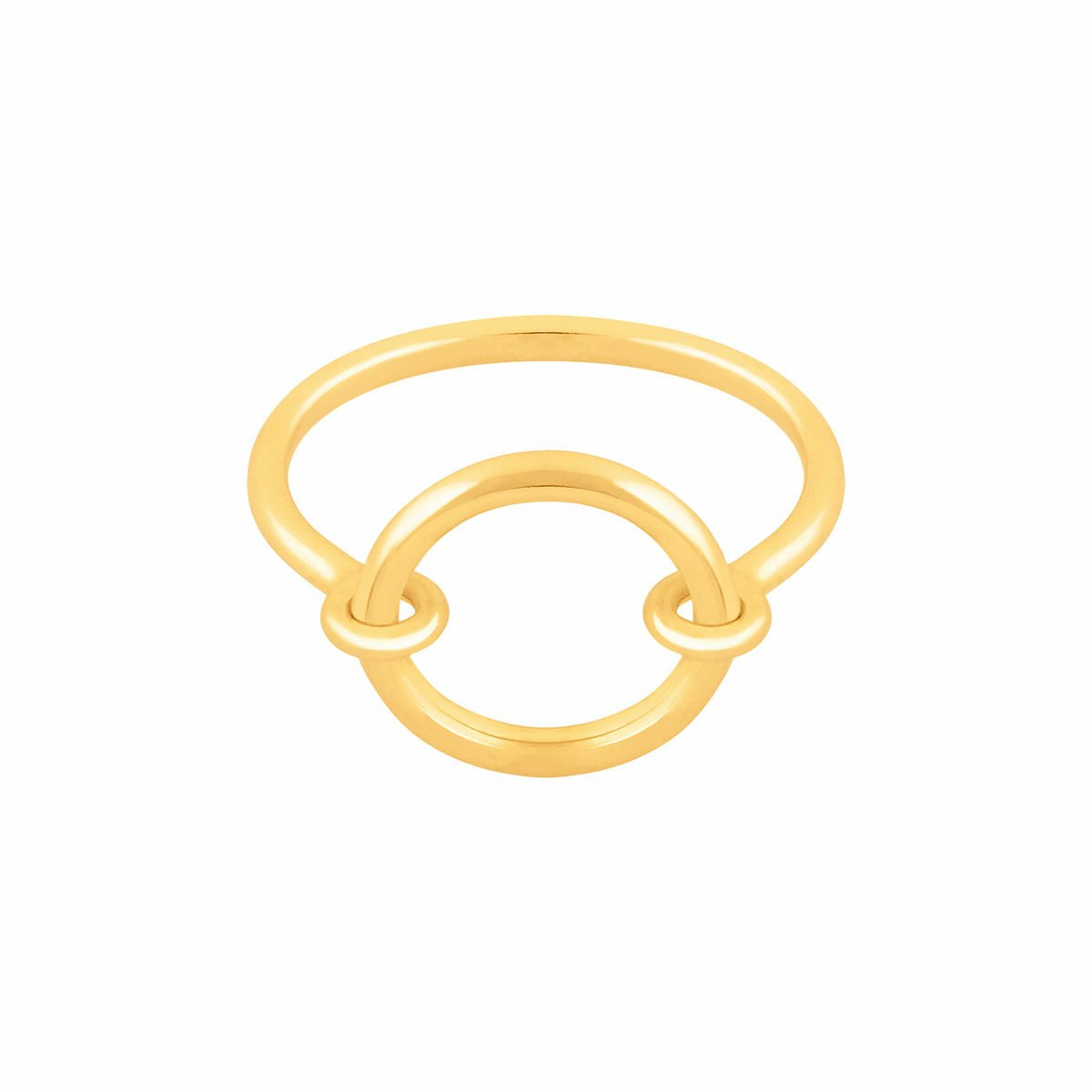انگشتر طلا دایره متحرک