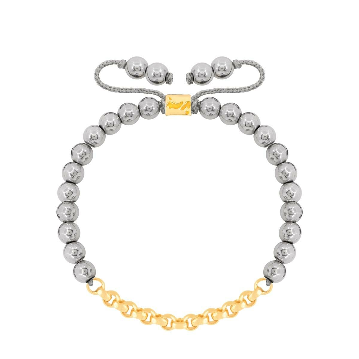 دستبند طلا سنگی رولو