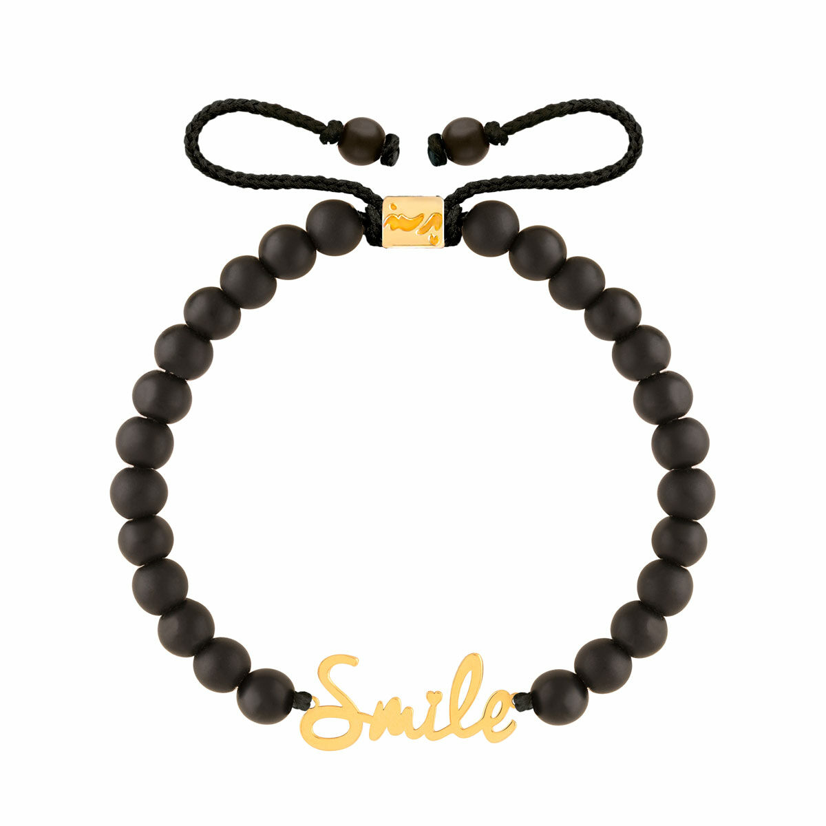 دستبند طلا سنگی SMILE