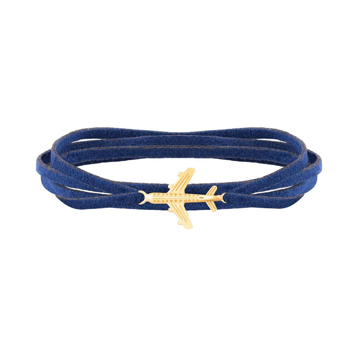 دستبند طلا بافت هواپیما