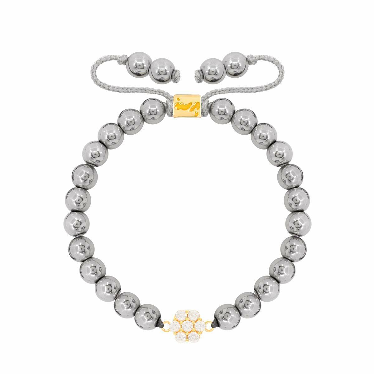 دستبند طلا سنگی FLOWER