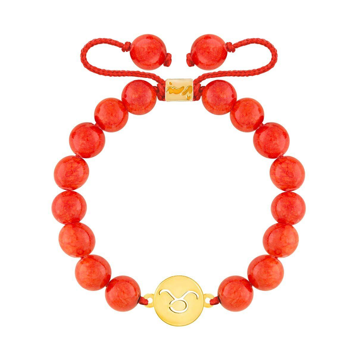 دستبند طلا سنگی نماد ماه اردیبهشت