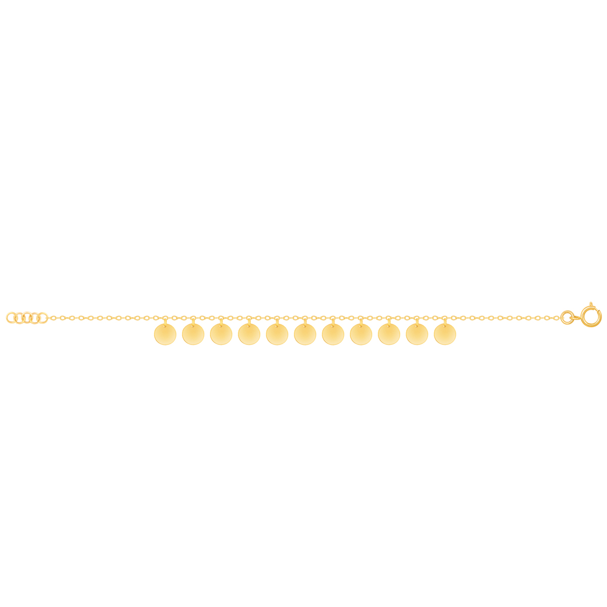 دستبند طلا Mermaid (پری دریایی)
