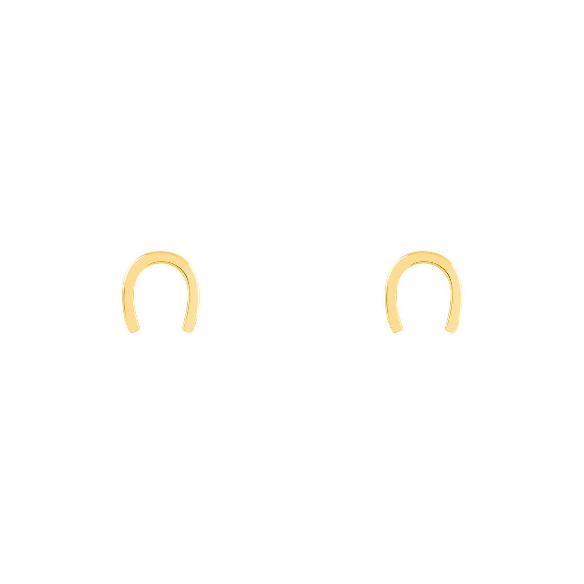 گوشواره طلا نعل