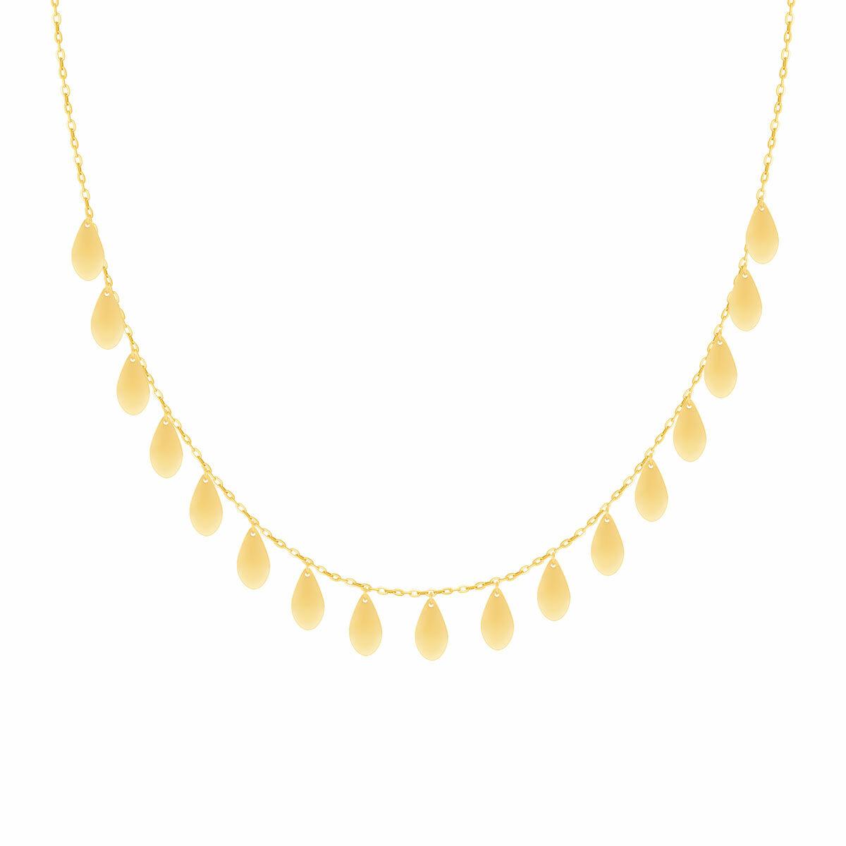 گردنبند طلا Mermaid (پری دریایی) اشک