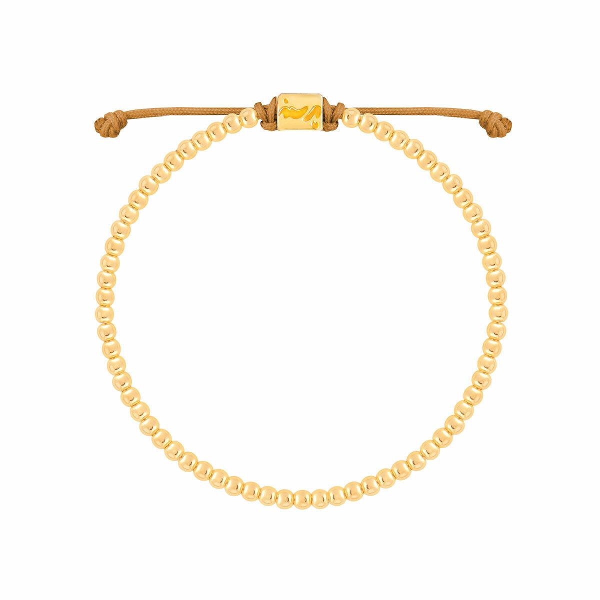 دستبند طلا تمام گوی کوچک
