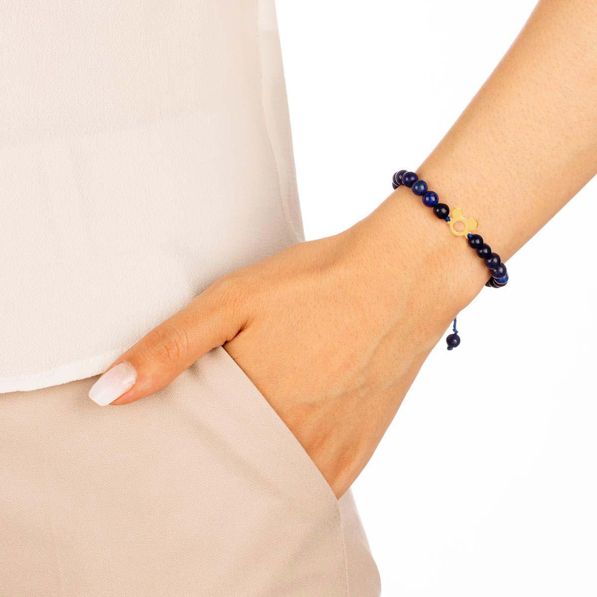 دستبند طلا سنگی میکی ماوس