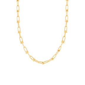 زنجیر گردنبند طلا لینک