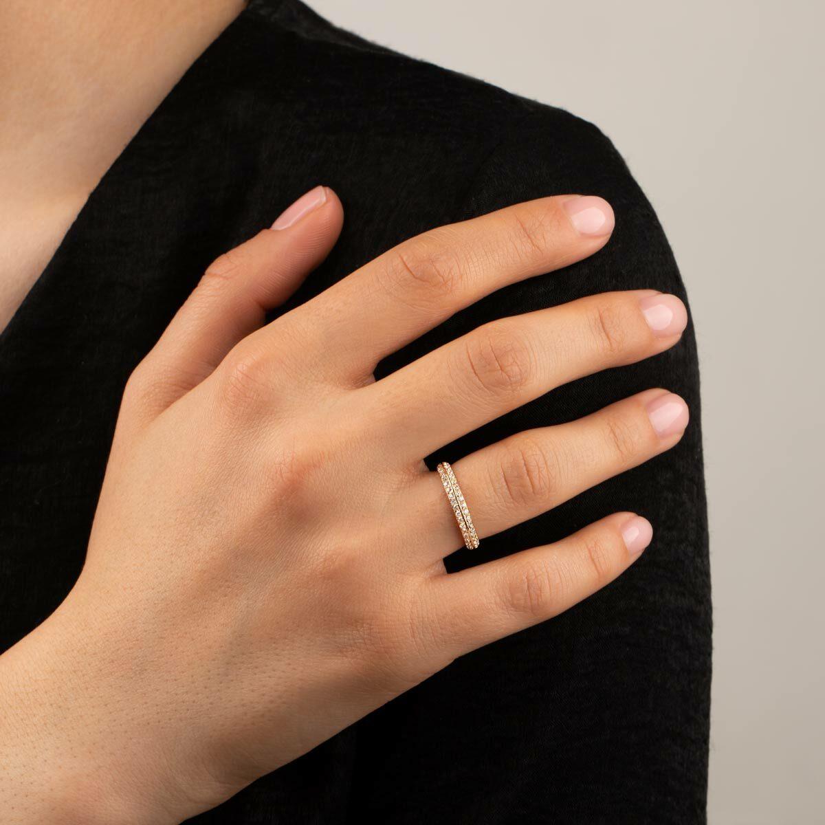انگشتر طلا الیکا