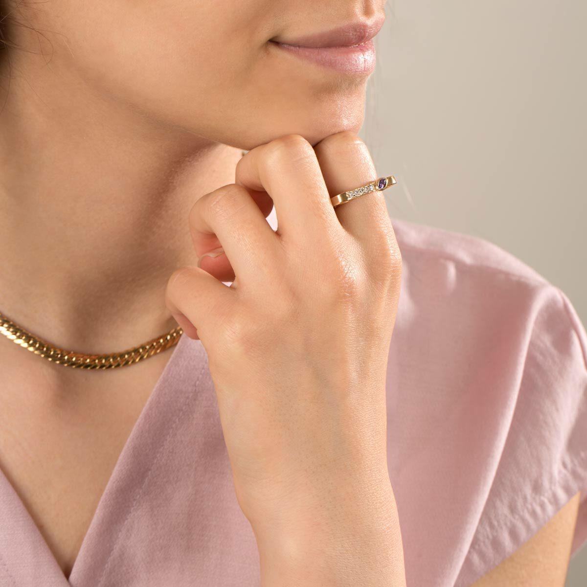 انگشتر طلا آرمیتان