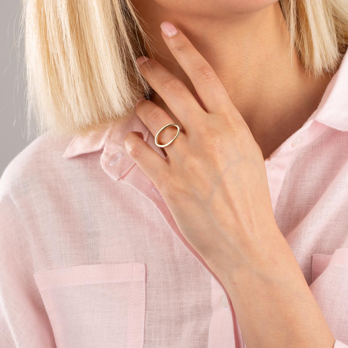 انگشتر طلا کارلا