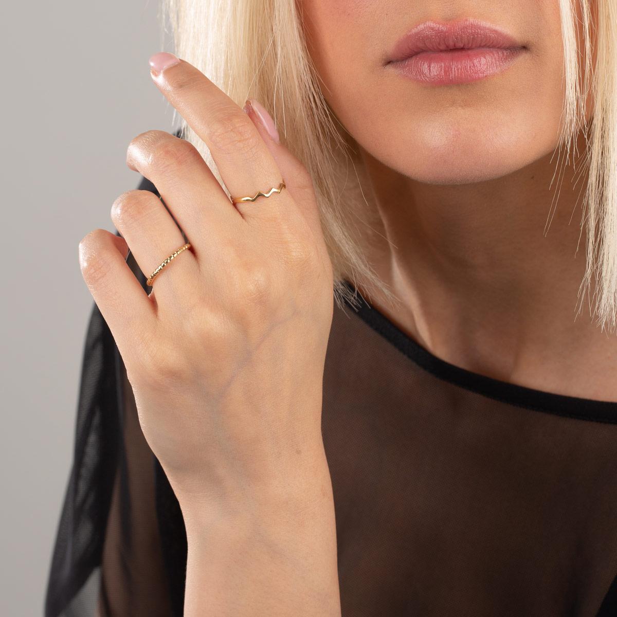 انگشتر طلا الیزا