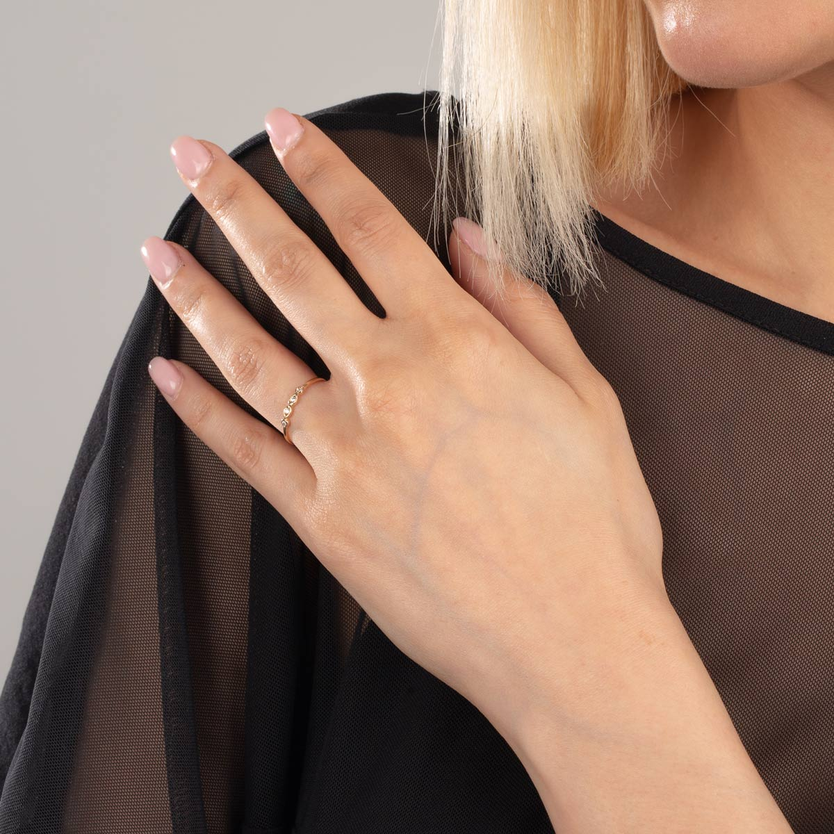 انگشتر طلا استلا