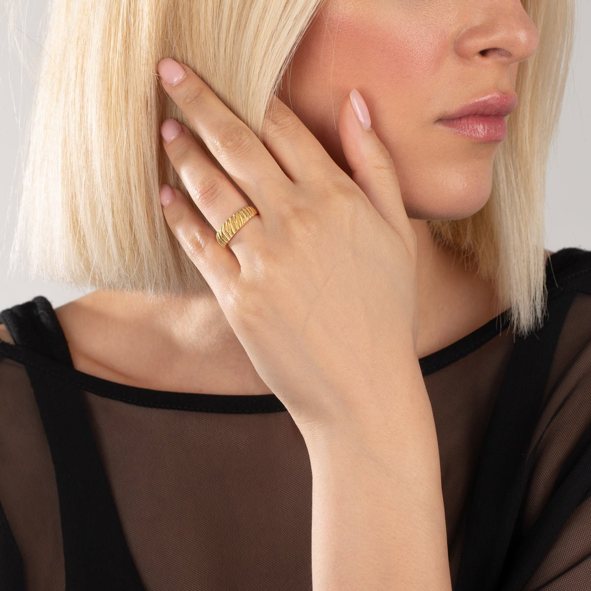 انگشتر طلا ایتزل