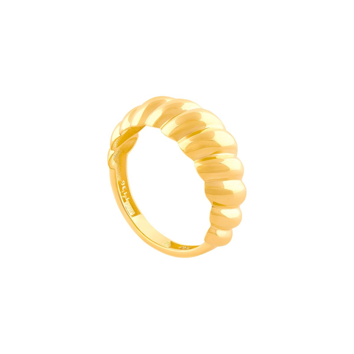 انگشتر طلا دامله صدفی